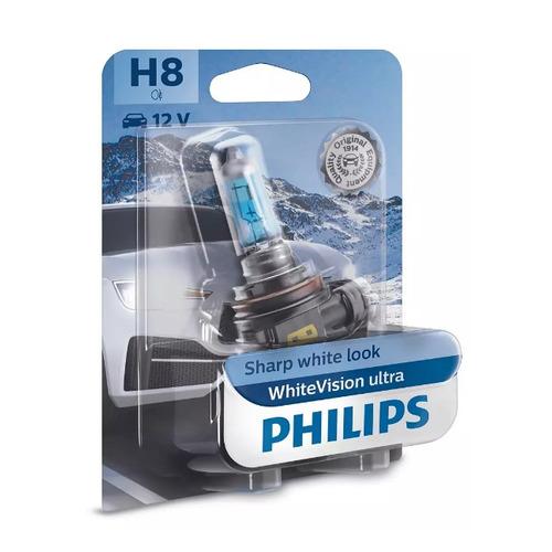 Лампа автомобильная галогенная PHILIPS 12360WVUB1, H8, 12В, 35Вт, 1шт