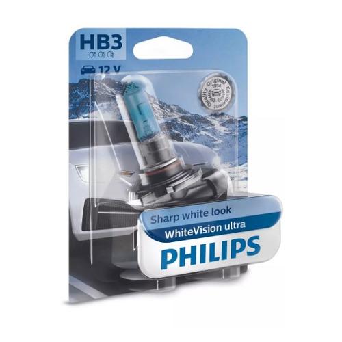 Лампа автомобильная галогенная PHILIPS 9005WVUB1, HB3, 12В, 65Вт, 1шт