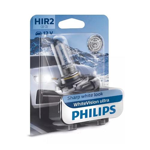 Лампа автомобильная галогенная PHILIPS 9012WVUB1, HIR2, 12В, 55Вт, 1шт