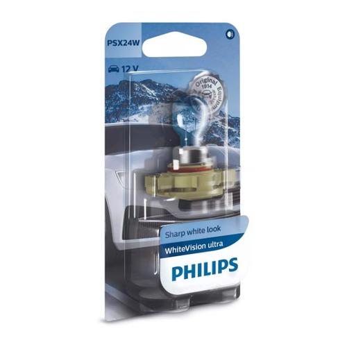 Лампа автомобильная накаливания PHILIPS 12276WVUB1, PSX24W, 12В, 24Вт, 1шт