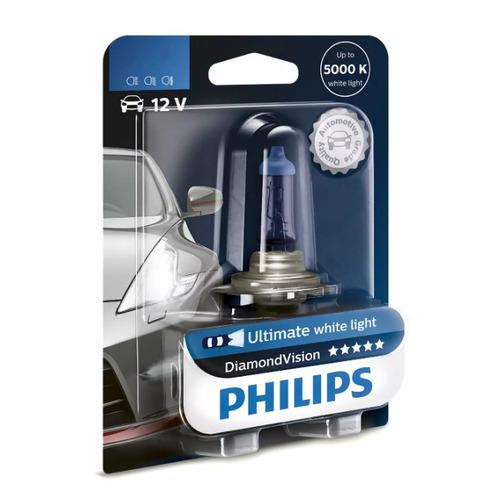 Лампа автомобильная галогенная PHILIPS 12336DVB1, H3, 12В, 55Вт, 1шт