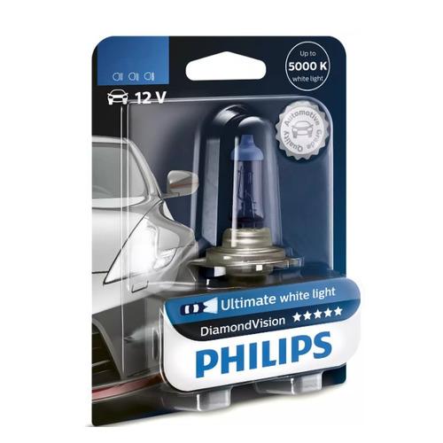 Лампа автомобильная галогенная PHILIPS 12342DVB1, H4, 12В, 60Вт, 1шт