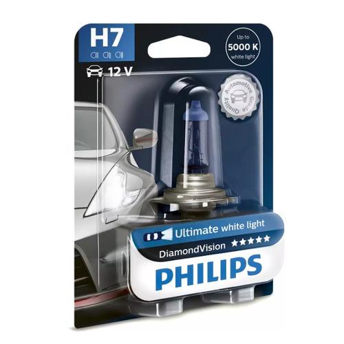 Лампа автомобильная галогенная PHILIPS 12972DVB1, H7, 12В, 55Вт, 1шт