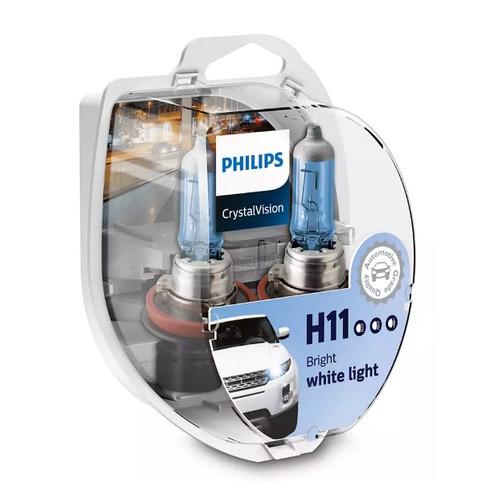 Лампа автомобильная галогенная PHILIPS 12362CVSM, H11, 12В, 55Вт, 2шт