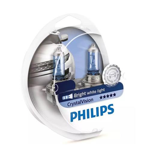 Лампа автомобильная галогенная PHILIPS 12342CVSM, H4, 12В, 60Вт, 2шт