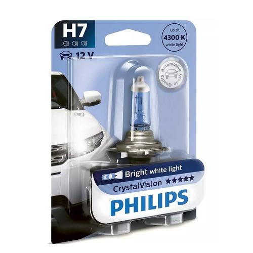 Лампа автомобильная галогенная PHILIPS 12972CVB1, H7, 12В, 55Вт, 1шт