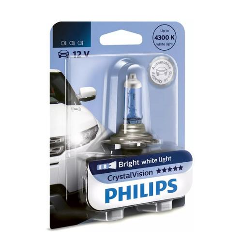 Лампа автомобильная галогенная PHILIPS 9005CVB1, HB3, 12В, 65Вт, 1шт