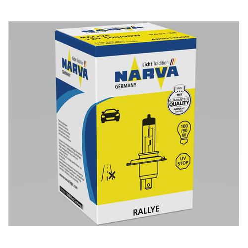Лампа автом.галог. Narva 48901 H4 12В 100Вт (упак.:1шт)