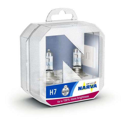Лампа автомобильная галогенная NARVA 48071, H7, 12В, 55Вт, 2шт