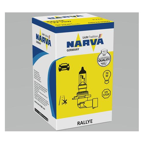 Лампа автомобильная галогенная NARVA 48026, HB4, 12В, 70Вт, 1шт