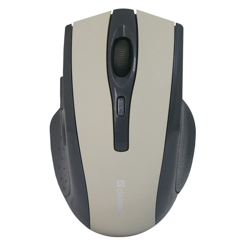 Мышь DEFENDER Accura MM-665, оптическая, беспроводная, USB, серый [52666] беспроводная мышь defender accura mm 665 usb red