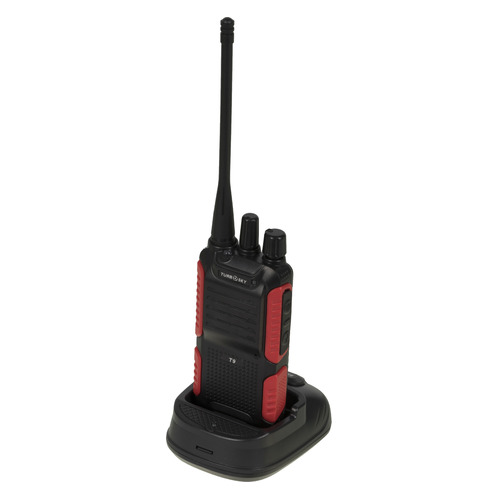 Рация Turbosky T9 16кан. компл.:1шт аккум. черный/красный (13442)