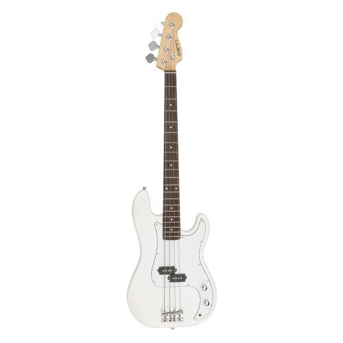 Бас-гитара DENN SB100, клен, белый