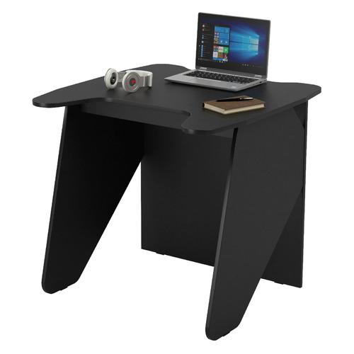 Стол игровой ВИТАЛ-ПК Скилл 800, ЛДСП, черный и черный