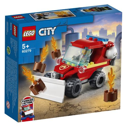 Конструктор Lego City Fire Пожарный автомобиль, 60279 конструктор lego city 60214 пожар в бургер кафе