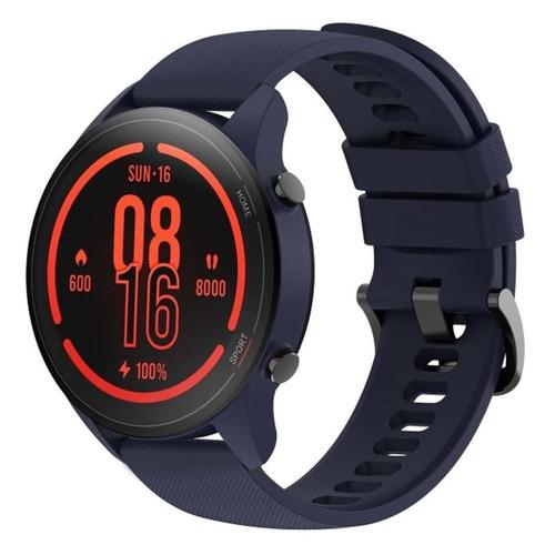 Смарт-часы Xiaomi Mi Watch, 1.39, синий / синий [bhr4583gl] смарт часы xiaomi mi watch lite ru 1 4 синий синий [bhr4705ru]
