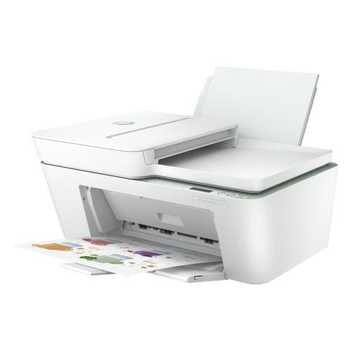 МФУ струйный HP DeskJet Plus 4122, A4, цветной, струйный, белый [7fs79b]