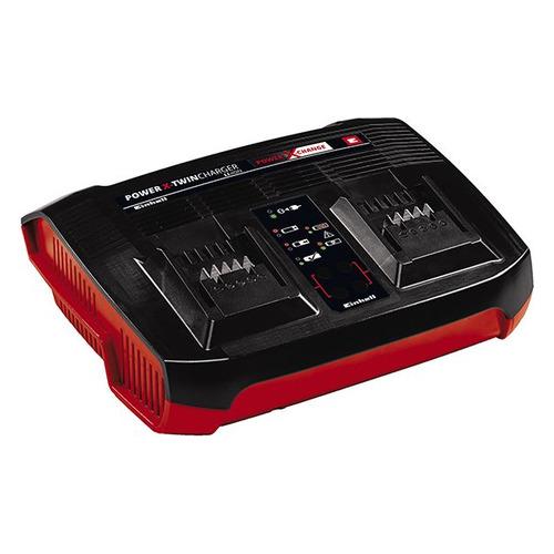 Зарядное устройство Einhell PXC Power X-Twincharger (4512069) набор зарядное устройство акб einhell 18в 3 0ач li ion power x change