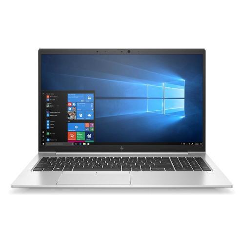"Ноутбук HP EliteBook 855 G7, 15.6"", AMD Ryzen 3 Pro 4450U 2.5ГГц, 8ГБ, 256ГБ SSD, AMD Radeon , Windows 10 Professional, серебристый"