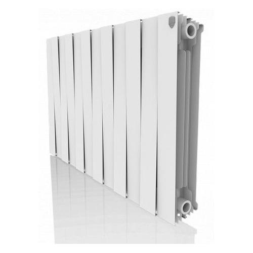 Радиатор ROYAL THERMO PianoForte 500 НС-1176323, 12 секций, биметаллический биметаллический радиатор rifar рифар b 500 нп 10 сек лев кол во секций 10 мощность вт 2040 подключение левое