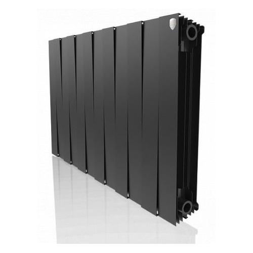 Радиатор ROYAL THERMO PianoForte 500 НС-1176330, 12 секций, биметаллический биметаллический радиатор rifar рифар b 500 нп 10 сек лев кол во секций 10 мощность вт 2040 подключение левое