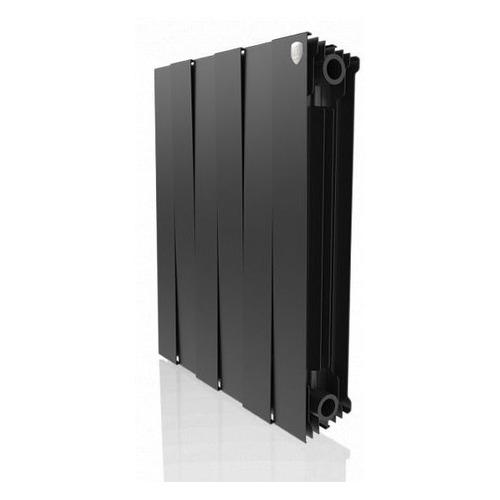 Радиатор ROYAL THERMO PianoForte 500 НС-1176332, 6 секций, биметаллический биметаллический радиатор rifar рифар b 500 нп 10 сек лев кол во секций 10 мощность вт 2040 подключение левое