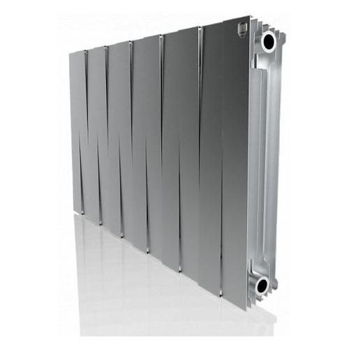 Радиатор ROYAL THERMO PianoForte 500 НС-1176336, 12 секций, биметаллический биметаллический радиатор rifar рифар b 500 нп 10 сек лев кол во секций 10 мощность вт 2040 подключение левое