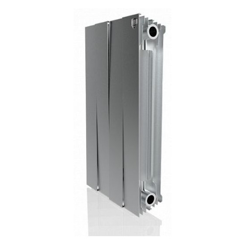 Радиатор ROYAL THERMO PianoForte 500 НС-1176338, 4 секций, биметаллический биметаллический радиатор rifar рифар b 500 нп 10 сек лев кол во секций 10 мощность вт 2040 подключение левое