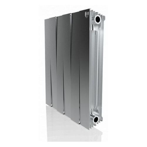 Радиатор ROYAL THERMO PianoForte 500 НС-1176340, 6 секций, биметаллический биметаллический радиатор rifar рифар b 500 нп 10 сек лев кол во секций 10 мощность вт 2040 подключение левое