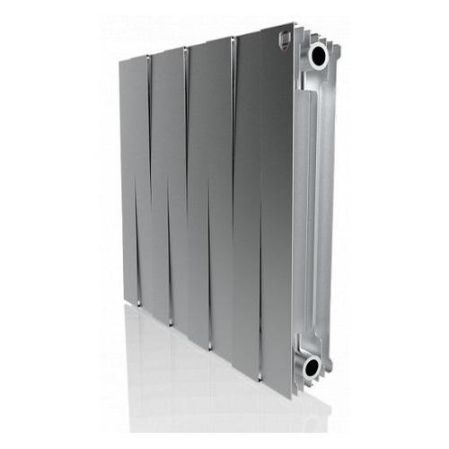 Радиатор ROYAL THERMO PianoForte 500 НС-1176341, 8 секций, биметаллический биметаллический радиатор rifar рифар b 500 нп 10 сек лев кол во секций 10 мощность вт 2040 подключение левое