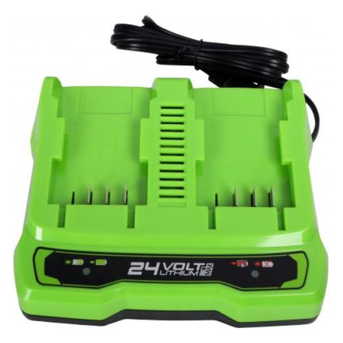 Зарядное устройство Greenworks G24X2UC2 (2931907)