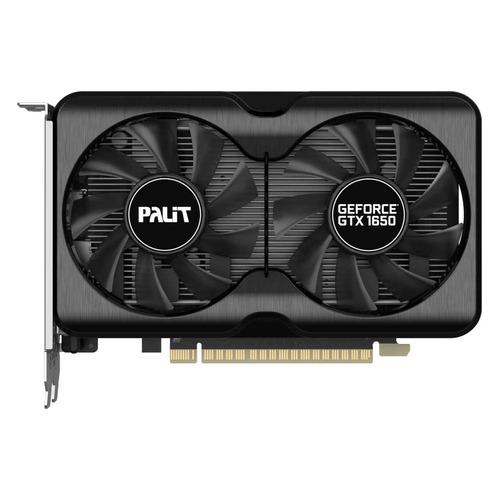Видеокарта PALIT NVIDIA GeForce GTX 1650 , PA-GTX1650 GP OC 4G D6, 4ГБ, GDDR6, OC, Ret [ne61650s1bg1-1175a]