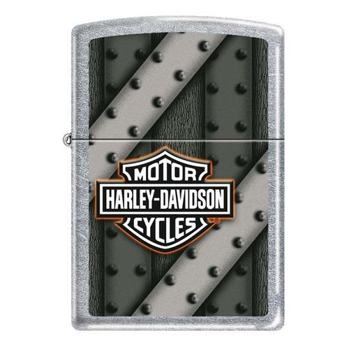 Фото - Зажигалка Zippo Harley Davidson 207 Harley Davidson латунь/сталь серебристый/зеленый зажигалка бензиновая harley davidson bikes 207