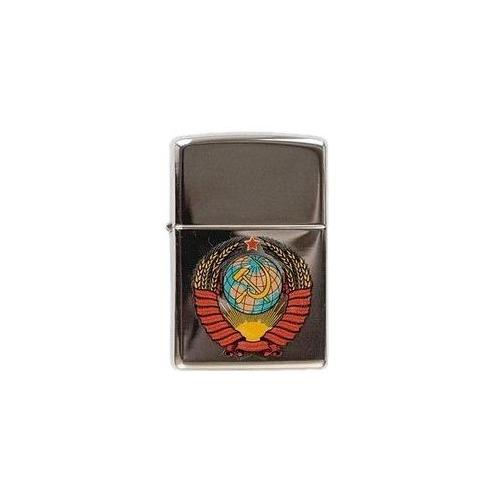 Зажигалка Zippo Герб СССР 250 Герб СССР латунь/сталь серебристый