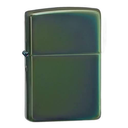 Зажигалка Zippo Classic 28129 латунь/сталь зеленый