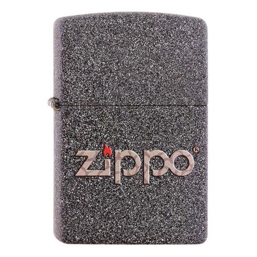 Фото - Зажигалка Zippo Classic 211 Snakeskin Zippo Logo латунь/сталь серый матовый zippo zippo 24935