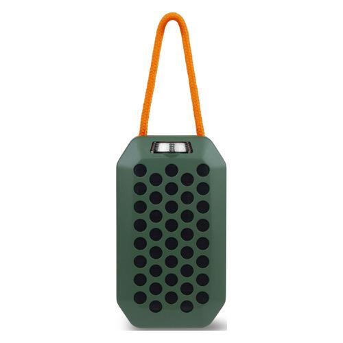 Портативная колонка ROMBICA Mysound Pulse, 6Вт, зеленый / черный [bt-s083]