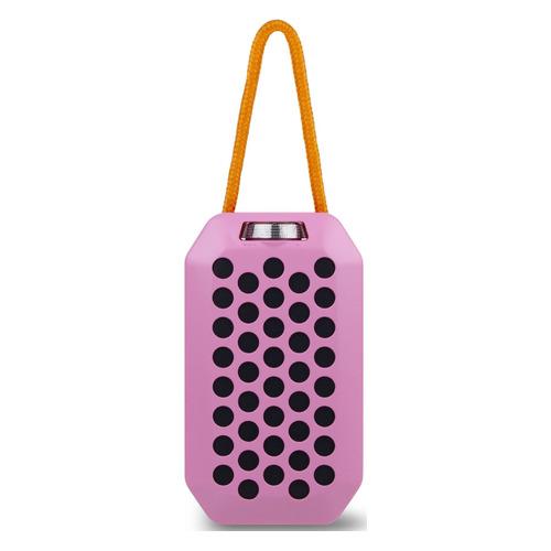 Портативная колонка ROMBICA Mysound Pulse, 6Вт, розовый / черный [bt-s085]