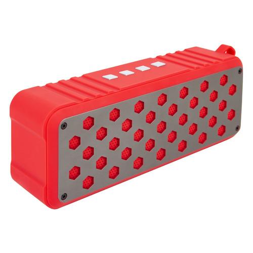 Портативная колонка ROMBICA Mysound Twinbox, 10Вт, красный / красный [bt-s076]