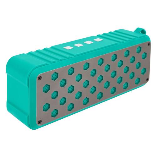 Портативная колонка ROMBICA Mysound Twinbox, 10Вт, голубой / голубой [bt-s077]