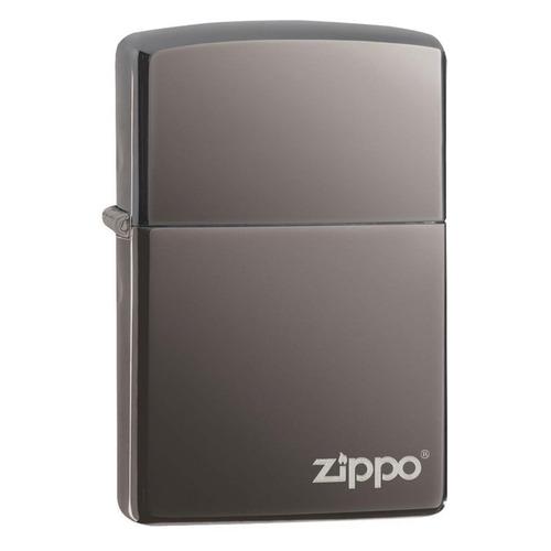 Зажигалка Zippo Classic 150ZL латунь/сталь черный глянцевый