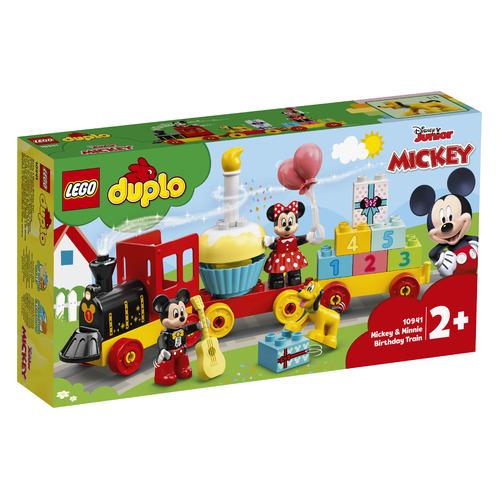 Фото - Конструктор LEGO Duplo Праздничный поезд Микки и Минни, 10941 конструктор lego duplo моя первая минни 10897