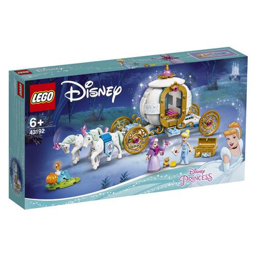 Конструктор Lego Disney Princess Королевская карета Золушки, 43192