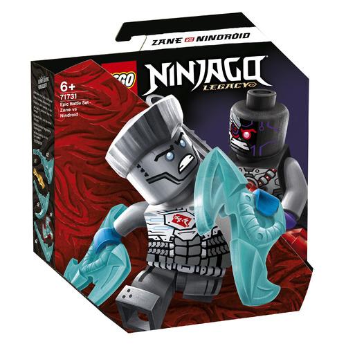 Фото - Конструктор LEGO Ninjago Легендарные битвы: Зейн против Ниндроида, 71731 конструктор lego ninjago бронированный носорог зейна