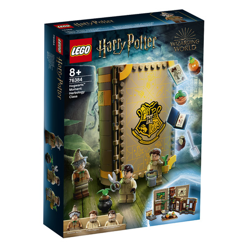 Конструктор LEGO Harry Potter Учеба в Хогвартсе: Урок травологии, 76384