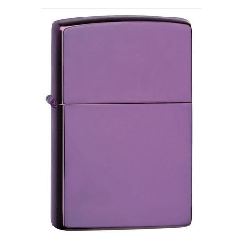 Зажигалка Zippo Classic 24747 латунь/сталь фиолетовый глянцевый