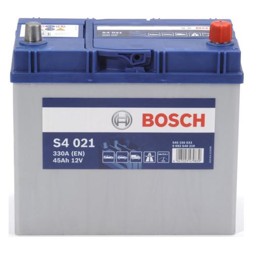 Аккумулятор автомобильный BOSCH S4 Silver 45Ач 330A [0092s40210]