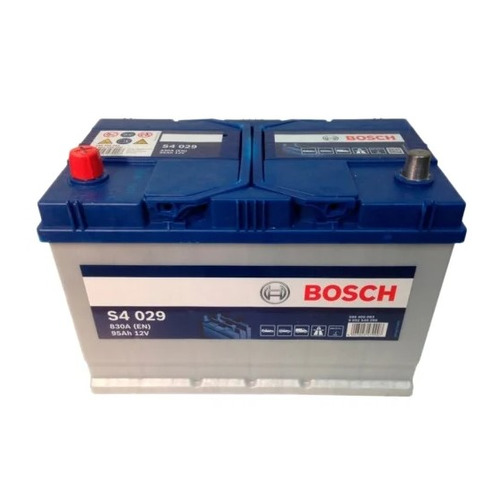 Аккумулятор автомобильный BOSCH S4 Silver 95Ач 830A [0092s40290]