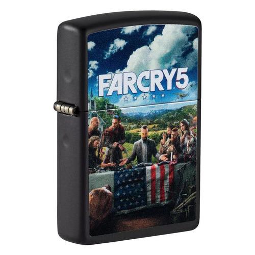 Зажигалка Zippo Far Cry 49244 латунь/сталь черный матовый