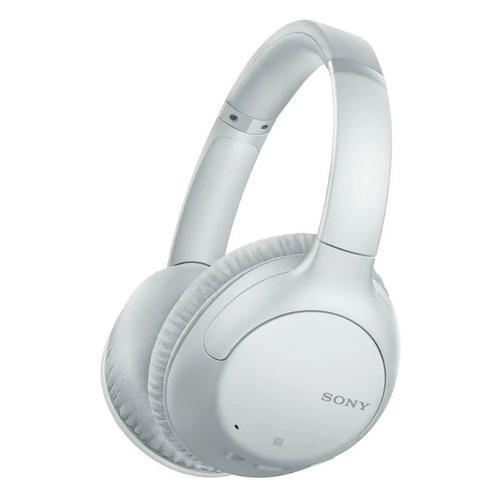 Гарнитура SONY WH-CH710N, 3.5 мм/Bluetooth, накладные, белый [whch710nw.e]